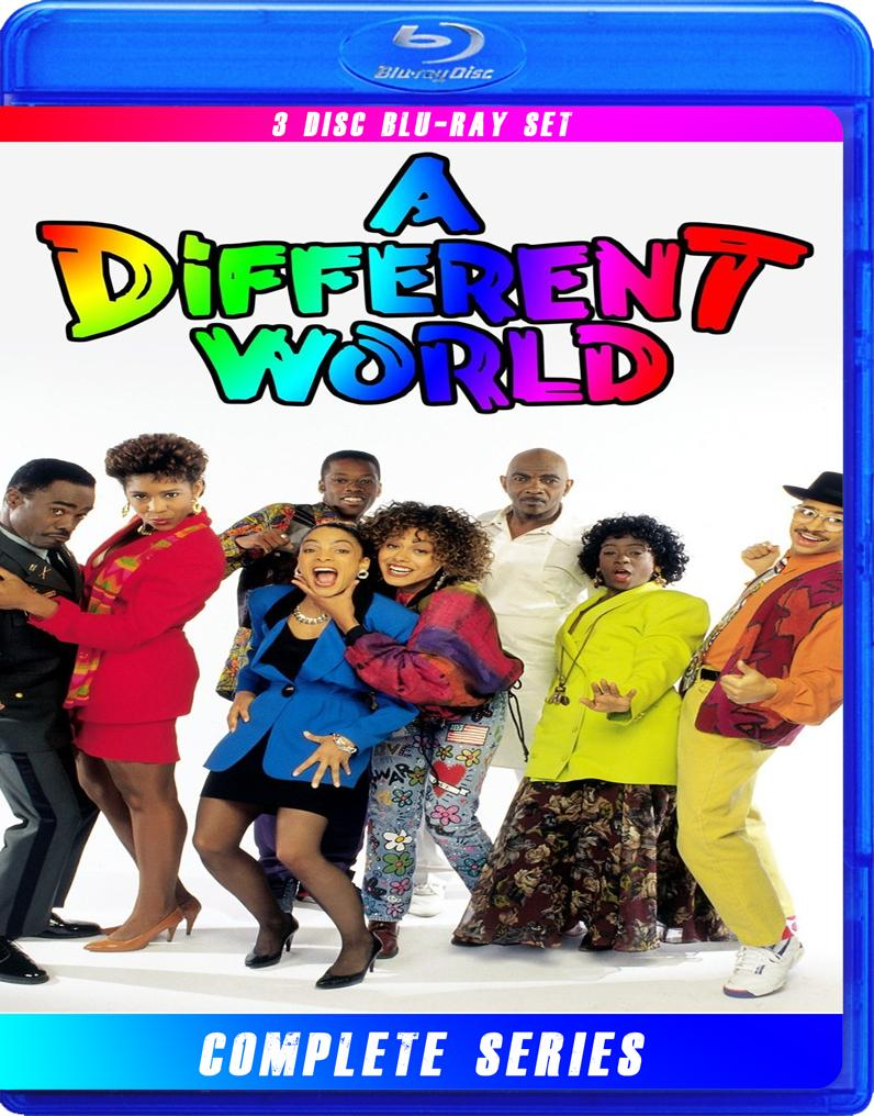 A DIFFERENT WORLD THE COMPLETE SERIES BLU RAY!  LISA BONET!