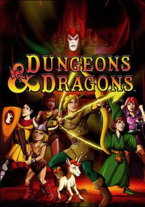 DUNGEONS AND DRAGONS COMPLETE SERIES BLU RAY!