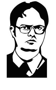 "The Office ""Dwight K Schrute"" Vinyl Decal"