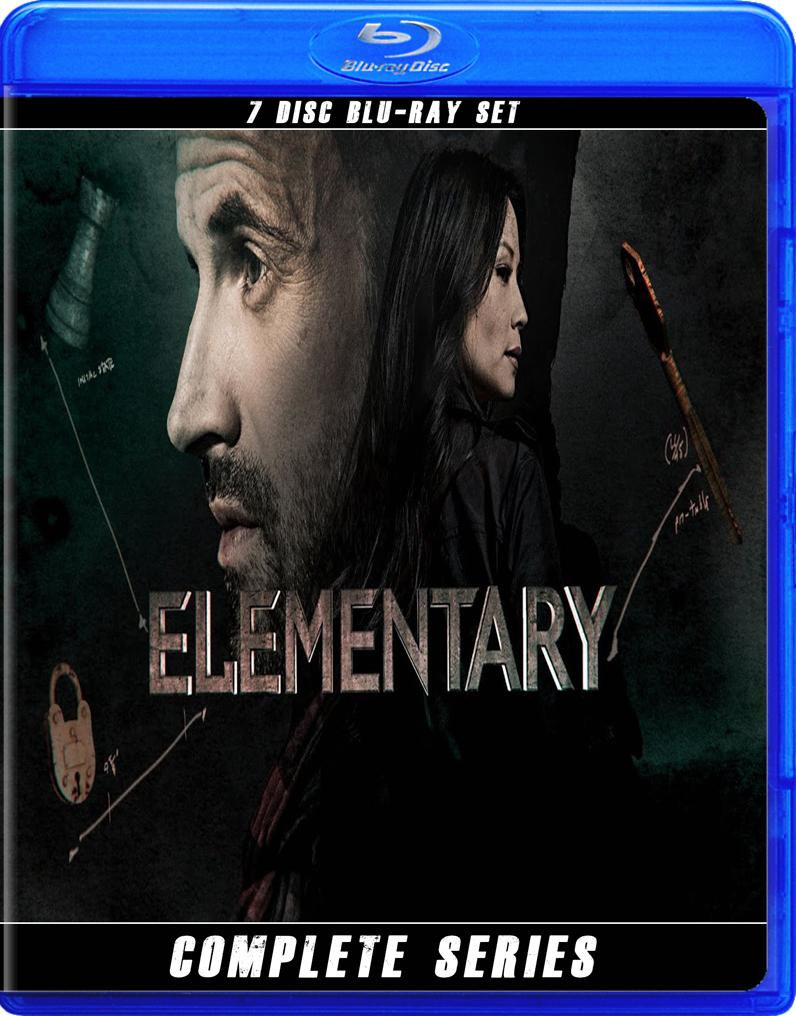 ELEMENTARY THE COMPLETE SERIES BLU RAY!