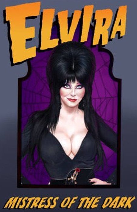 Elvira Mistress of the Dark Color Vinyl Decal