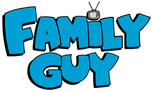 Family Guy Logo Color Vinyl Decal
