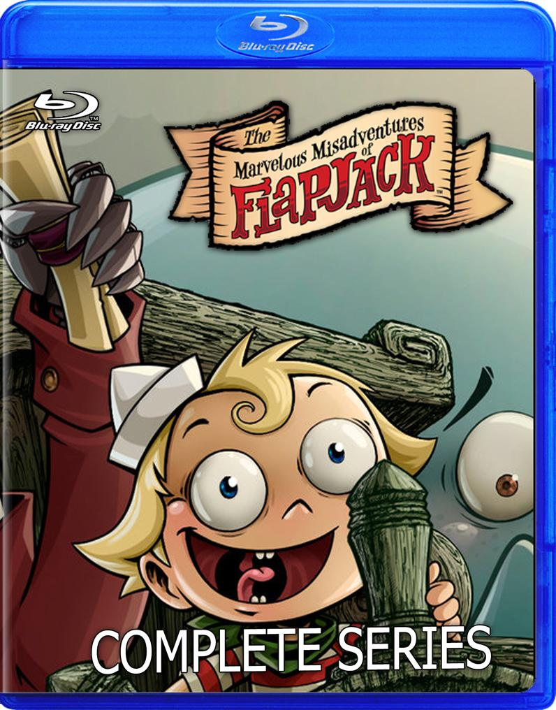 The Marvelous Misadventures of Flapjack in Blu-ray