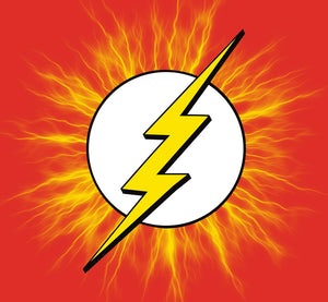 Flash Logo with Electricity Color Decal