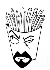 Aqua Teen Frylock Vinyl Decal/Sticker