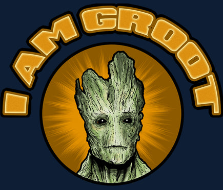 Guardians of the Galaxy I Am Groot Color Vinyl Decal