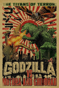 Godzilla 'Titans of Terror' Post-A-Cal™