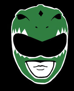 Green Power Ranger Vinyl Decal Sticker