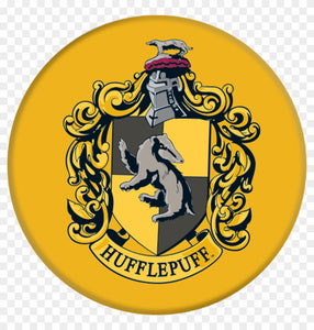 Harry Potter Hufflepuff Color Vinyl Decal