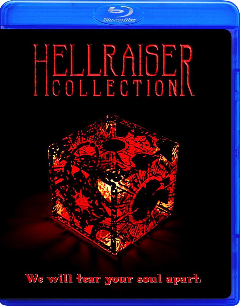 HELLRAISER EVERY MOVIE THE COMPLETE COLLECTION!! BLU RAY!