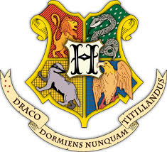 Hogwarts Houses Logo Color Vinyl Decal