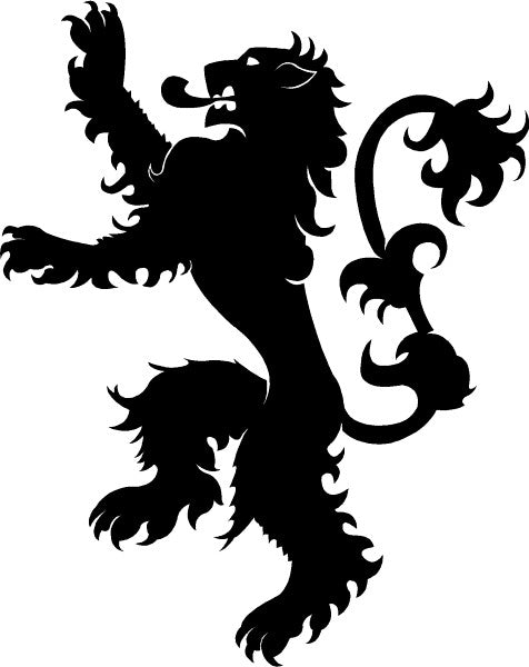 House Lannister Game of Thrones Vinyl Decal Sticker