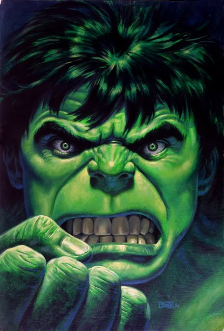 Hulk 'Portrait' Post-A-Cal™