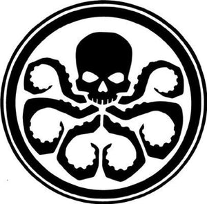 SHIELD Hydra Vinyl Decal Sticker