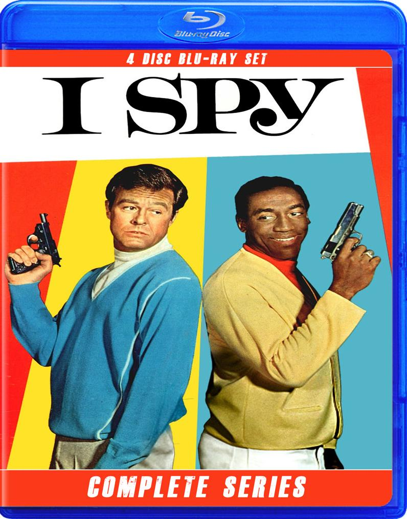 I SPY COMPLETE SERIES ON BLU RAY!!!