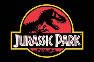 Jurassic Park Color Vinyl Decal