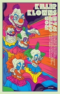 Killer Klowns from Outer Space Post-A-Cal™