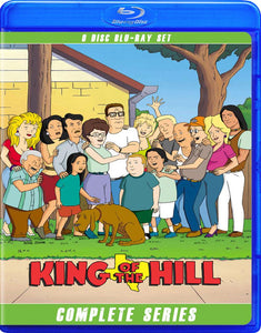 KING OF THE HILL THE COMPLETE SERIES BLU RAY!!
