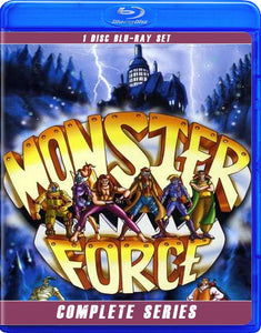 MONSTER FORCE THE COMPLETE SERIES BLU RAY!