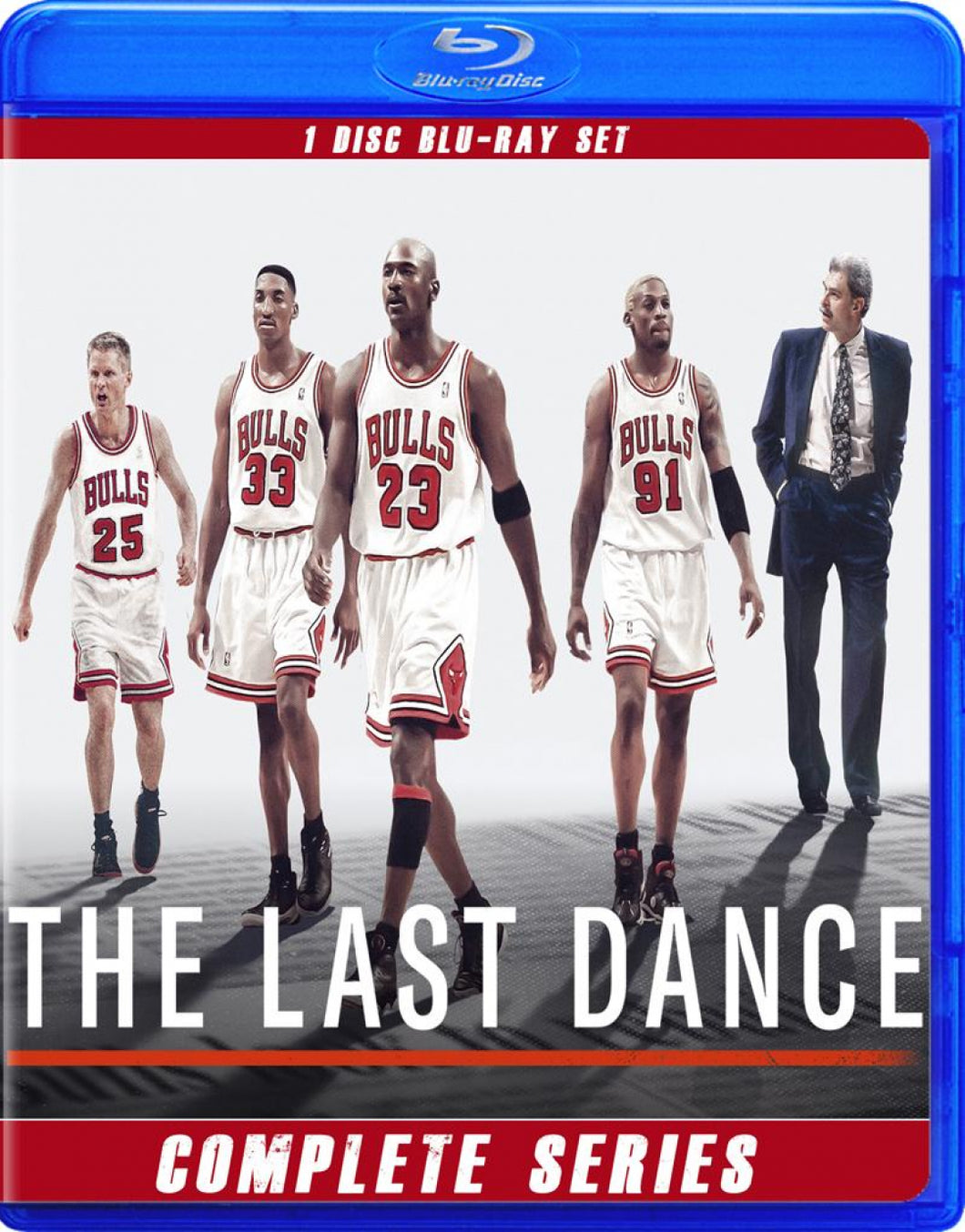 MICHAEL JORDAN THE LAST DANCE ON BLU RAY DISK!!