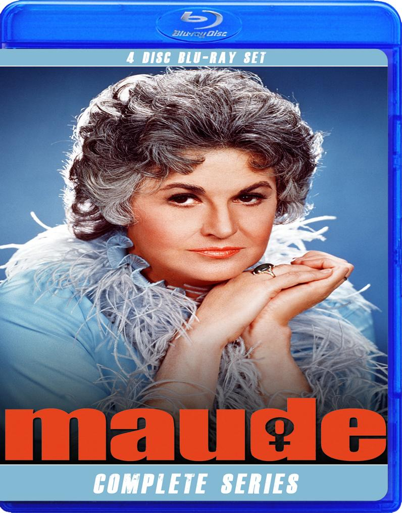 MAUDE THE COMPLETE SERIES BLU RAY!!