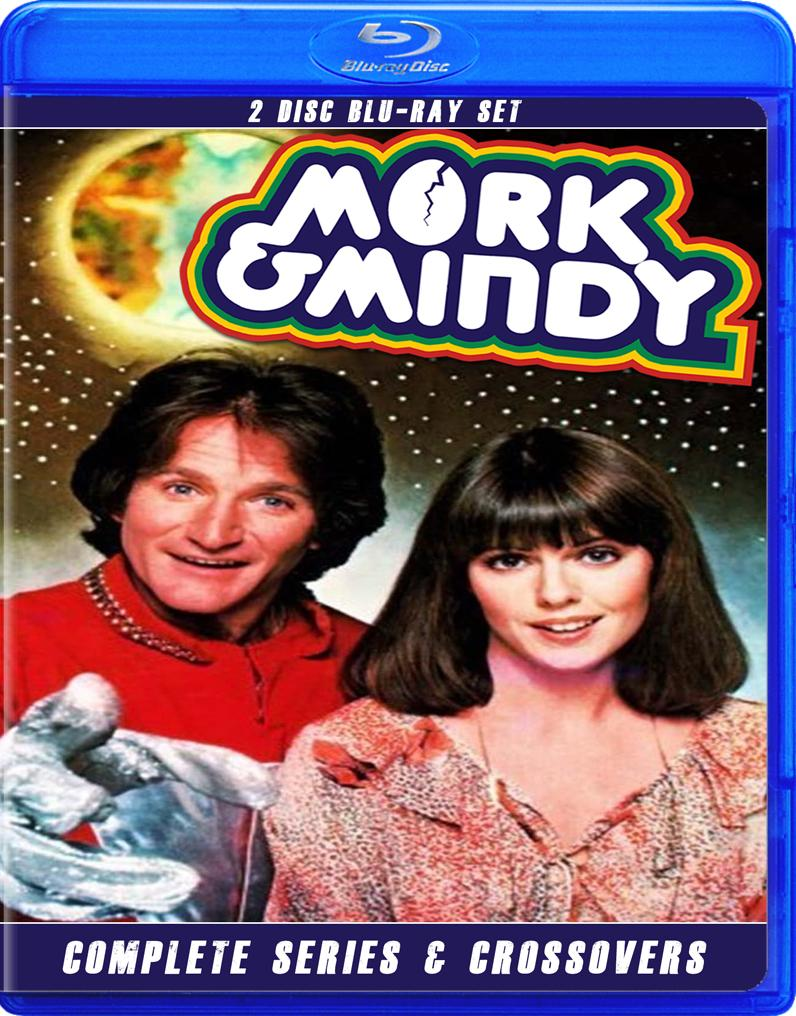 Mork and Mindy all seasons in Blu-ray