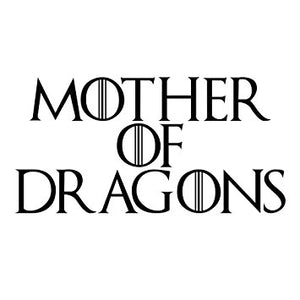 Mother of Dragons 1 Game of Thrones Vinyl Decal Sticker