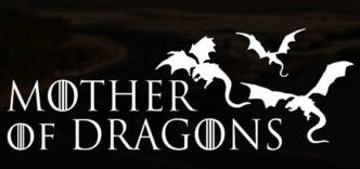 Mother of Dragons 2 Game of Thrones Vinyl Decal Sticker