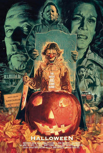 Halloween Movie Poster Post-A-Cal™