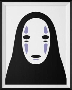 Studio Ghibli Kaonashi No Face Spirited Away Portrait