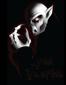 Nosferatu The Bat Color Vinyl Decal