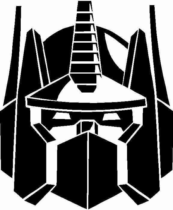 Optimus Prime Vinyl Decal Sticker