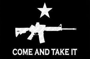 Come and Take It Rifle Vinyl Decal/Sticker