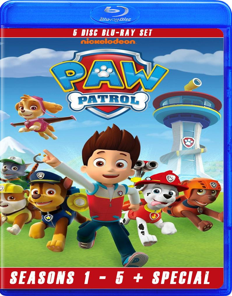 PAW PATROL THE COMPLETE SERIES BLU RAY!!