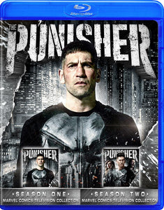 PUNISHER NETFLIX BOTH SEASONS BLU RAY!!