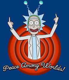 Rick & Morty 'Peace Among Worlds' Vinyl Color Decal