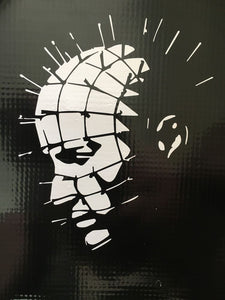 Hellraiser 'Pinhead Side View' Vinyl Decal
