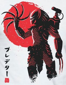 Predator Japanese Color Vinyl Decal