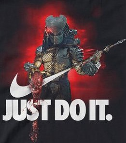 "Predator ""Just Do It"" Color Vinyl Decal"