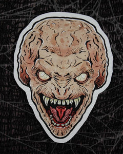 Pumpkinhead Color Vinyl Decal