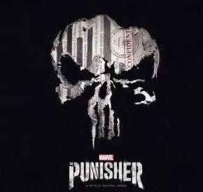 Punisher Logo 2 Color Vinyl Decal