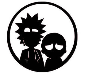 Rick & Morty 'In Shadow' Vinyl Decal