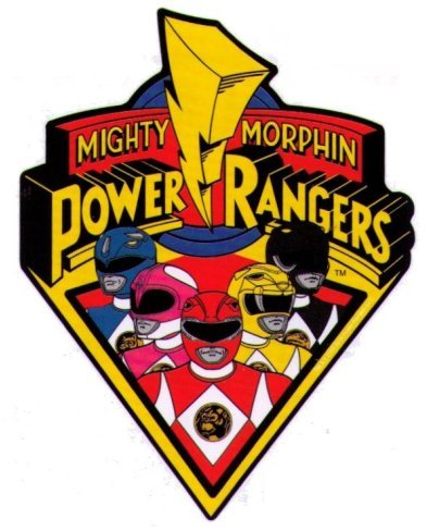 Power Rangers Color Vinyl Decal
