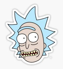 Rick & Morty 'Rick's Head' Vinyl Color Decal