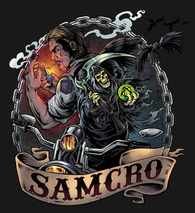 SAMCRO Jax Color Vinyl Decal