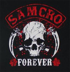 SAMCRO Forever Color Vinyl Decal