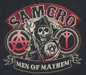 SAMCRO Men of Mayhem Color Vinyl Decal