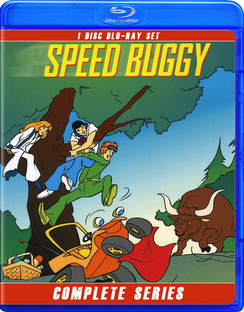 SPEED BUGGY THE COMPLETE SERIES BLU RAY!