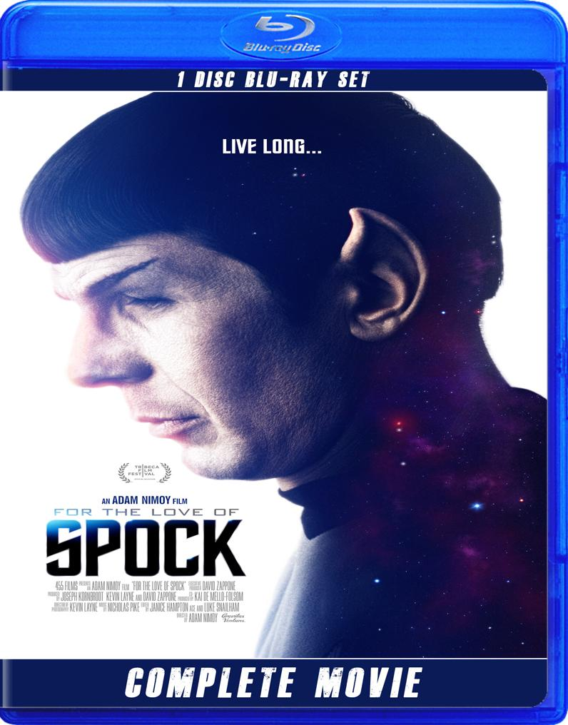 SPOCK FOR THE LOVE OF SPOCK BLU RAY!