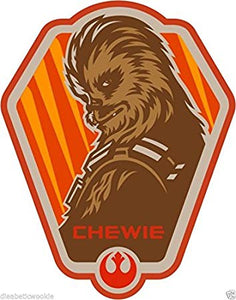 Star Wars Chewbacca 'Chewy' Color Vinyl Decal Color Vinyl Decal